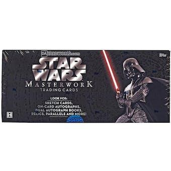 Star Wars Masterwork Hobby Box (Topps 2015)