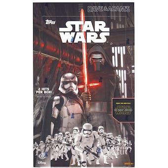 Star Wars: The Force Awakens Series 1 Hobby Box (Topps 2015)