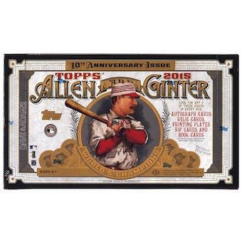 2015 Topps Allen & Ginter Baseball Hobby Box