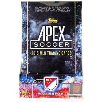 2015 Topps Apex Soccer Hobby Box