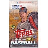 2015 Topps Series 2 Baseball Hobby Box