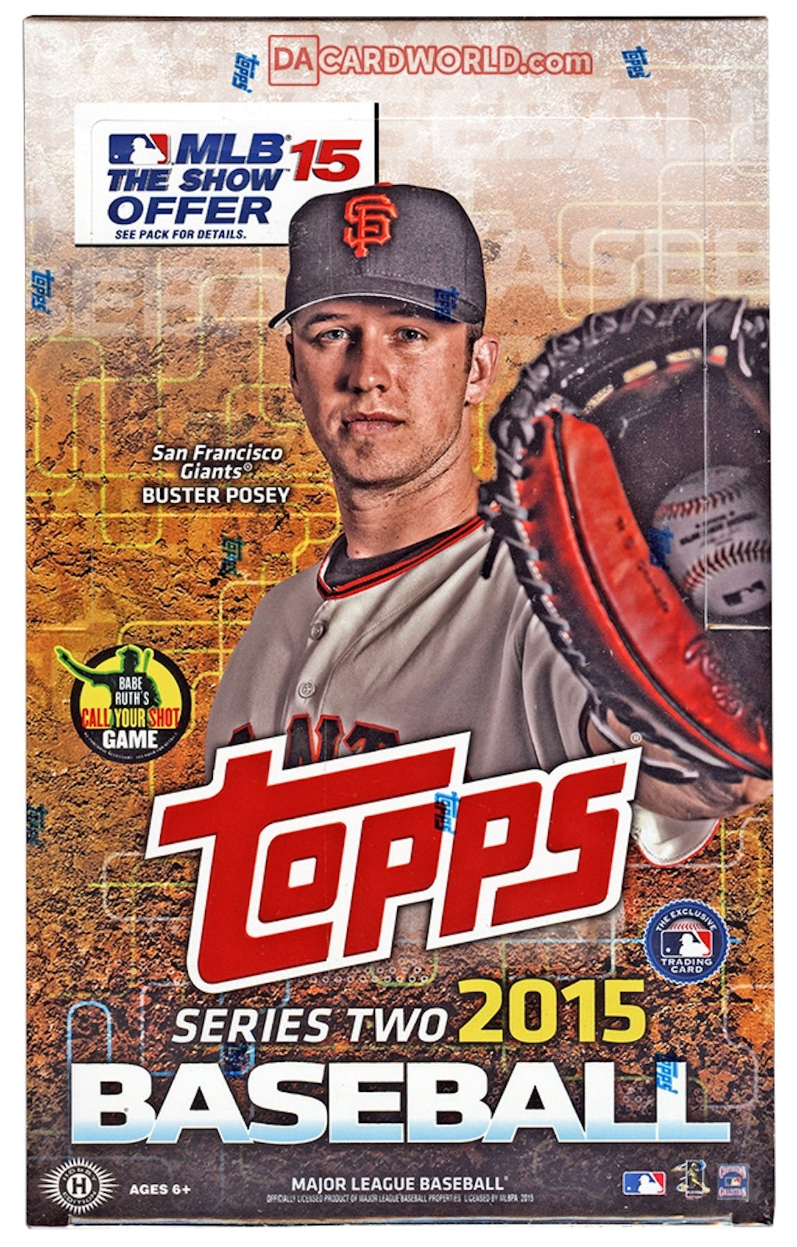 2015 Topps Series 2 Baseball Hobby Box