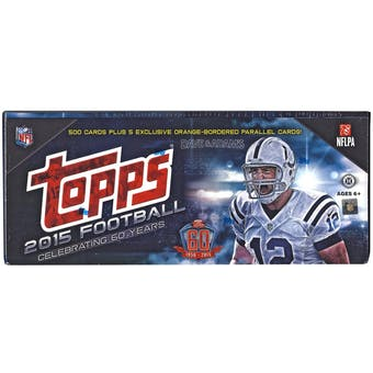 2015 Topps Factory Set Football Hobby (Box)