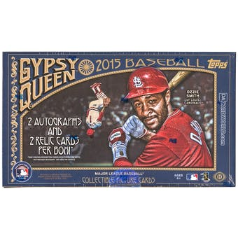 2015 Topps Gypsy Queen Baseball Hobby Box