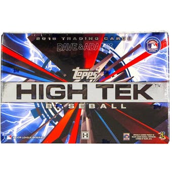 2015 Topps High Tek Baseball Hobby Box