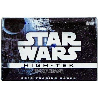 Star Wars High Tek Hobby Box (Topps 2015)