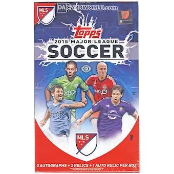 2015 Topps MLS Major League Soccer Hobby Box