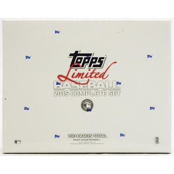 2015 Topps Limited Baseball Complete Set (Box)