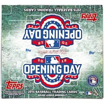 2015 Topps Opening Day Baseball Box