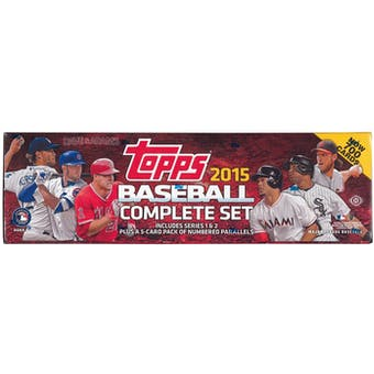 2015 Topps Factory Set Baseball Hobby (Box) - Kris Bryant RC!