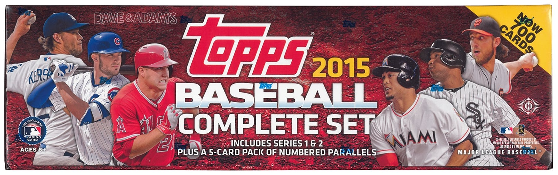 2015 Topps Factory Set Baseball Hobby Box Kris Bryant Rc