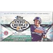 2015 Topps Pro Debut Baseball Hobby Box