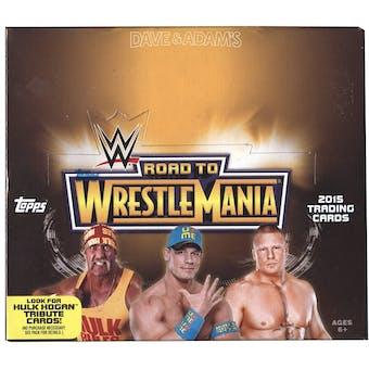 2015 Topps WWE Road to Wrestlemania Wrestling Hobby Box