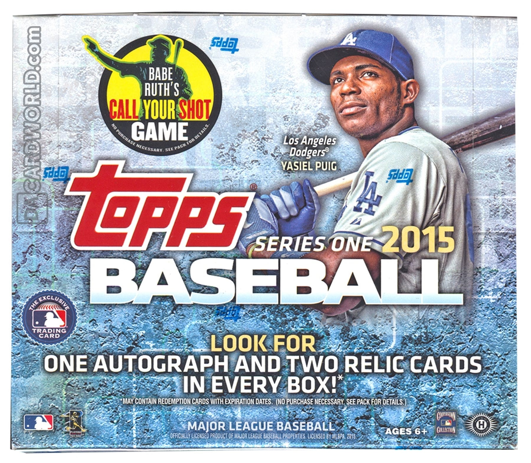 2015 Topps Series 1 Baseball Jumbo Box