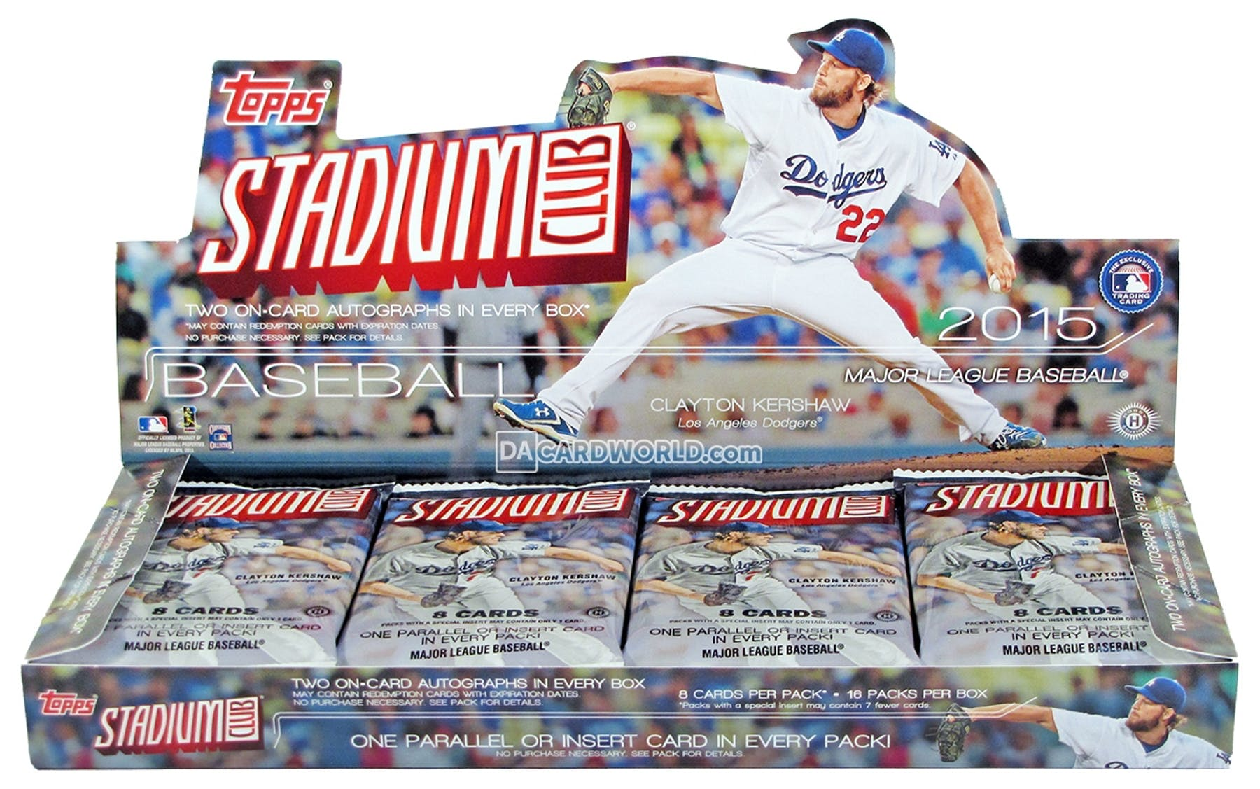 2015 Topps Stadium Club Baseball Hobby Box Da Card World