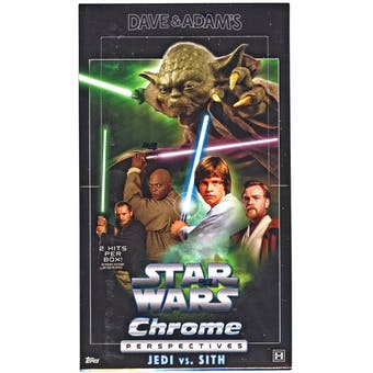 Star Wars Chrome Perspectives: Jedi Vs. Sith Hobby Box (Topps 2015)
