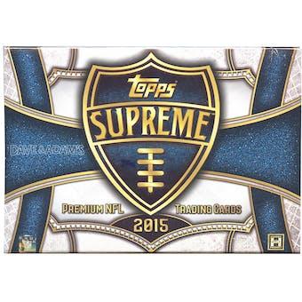 2015 Topps Supreme Football Hobby Box