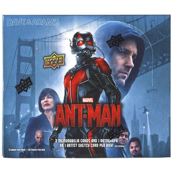 Marvel Ant-Man Trading Cards Box (Upper Deck 2015)