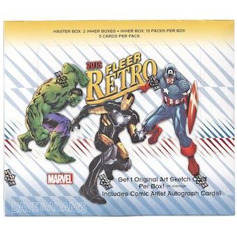 Marvel Fleer Retro Trading Cards Hobby Box (Upper Deck 2015)