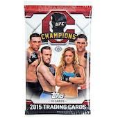 2015 Topps UFC Champions Hobby Pack
