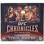 2015 Topps UFC Chronicles Hobby Box