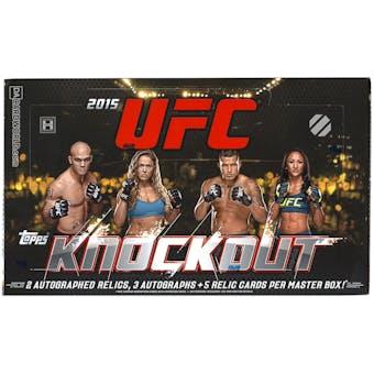 2015 Topps UFC Knockout Hobby Box