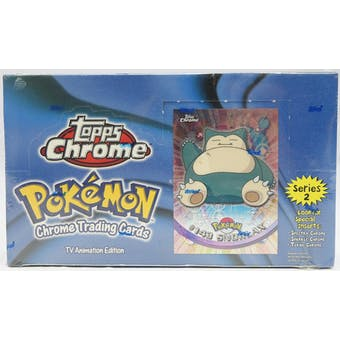 Pokemon Series 2 Trading Card Box (Topps Chrome 2000)