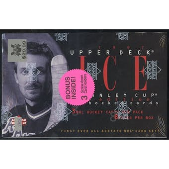 1996/97 Upper Deck Ice Hockey Retail Box