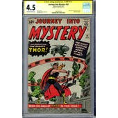 Journey Into Mystery #83 CGC 4.5 Stan Lee Signature Series (OW-W) *1601291013*