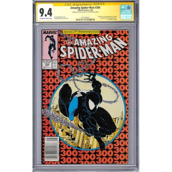 Amazing Spider-Man #300 CGC 9.4 Stan Lee Signature Series (OW-W) *1601299021*