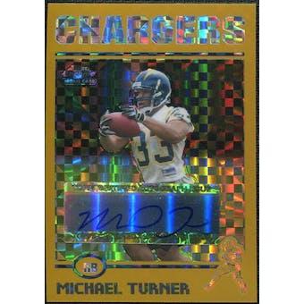 2004 Topps Chrome Gold Xfractors #203 Michael Turner Autograph 130/250