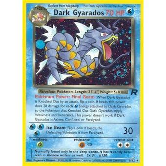 Pokemon Team Rocket Single Dark Gyarados 8/82
