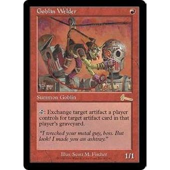 Magic the Gathering Urza's Legacy Single Goblin Welder - NEAR MINT (NM)
