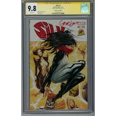 Silk #1 CGC 9.8 (W) Signed by Greg Land Dynamic Forces Edition *1607336002*
