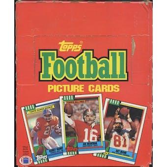 1990 Topps Football Rack Box