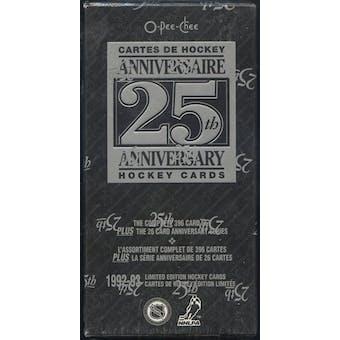1992/93 O-Pee-Chee 25th Anniversary Hockey Factory Set