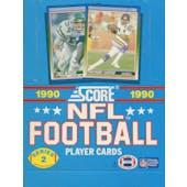 1990 Score Series 2 Football Wax Box (Reed Buy)