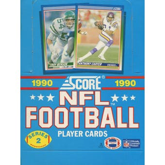 1990 Score Series 2 Football Wax Box