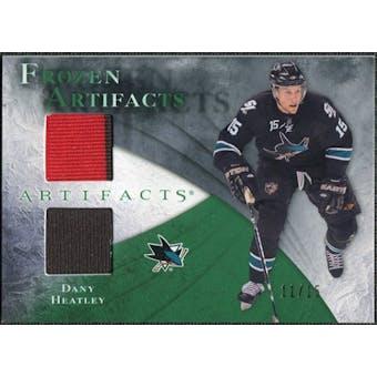 2010/11 Upper Deck Artifacts Frozen Artifacts Emerald #FADH Dany Heatley 11/15