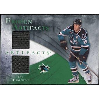2010/11 Upper Deck Artifacts Frozen Artifacts Emerald #FAJT Joe Thornton 8/15
