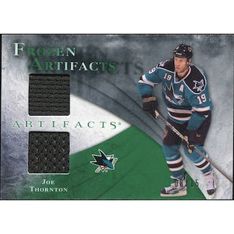 2010/11 Upper Deck Artifacts Frozen Artifacts Emerald #FAJT Joe Thornton 8/15