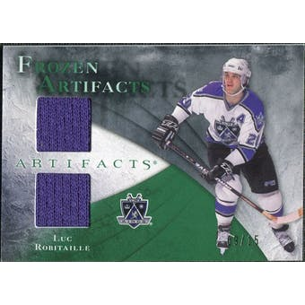 2010/11 Upper Deck Artifacts Frozen Artifacts Emerald #FALR Luc Robitaille 9/15