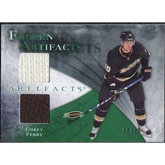 2010/11 Upper Deck Artifacts Frozen Artifacts Emerald #FAPE Corey Perry 10/15