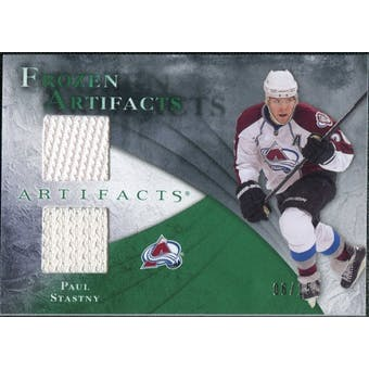 2010/11 Upper Deck Artifacts Frozen Artifacts Emerald #FAPS Paul Stastny 6/15
