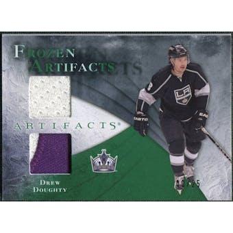 2010/11 Upper Deck Artifacts Frozen Artifacts Jersey Patch Emerald #FADD Drew Doughty 9/25