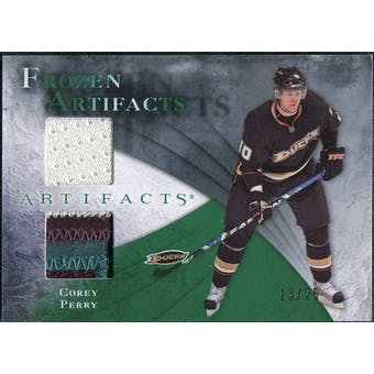 2010/11 Upper Deck Artifacts Frozen Artifacts Jersey Patch Emerald #FAPE Corey Perry 13/25