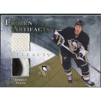 2010/11 Upper Deck Artifacts Frozen Artifacts Jersey Patch Gold #FAJO Jordan Staal 14/15