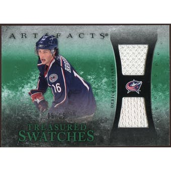 2010/11 Upper Deck Artifacts Treasured Swatches Emerald #TSDB Derick Brassard 5/15