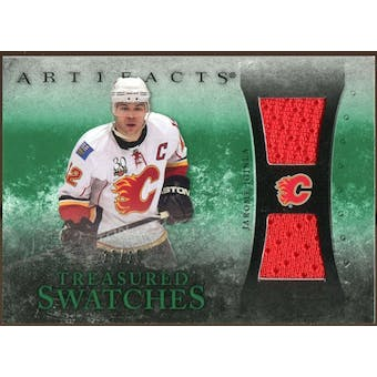 2010/11 Upper Deck Artifacts Treasured Swatches Emerald #TSJI Jarome Iginla 13/15
