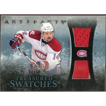 2010/11 Upper Deck Artifacts Treasured Swatches Jersey Patch Blue #TSTP Tomas Plekanec /50